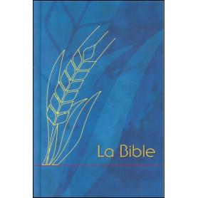 Bible Semeur Moyenne rigide quadri bleu