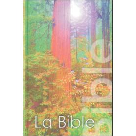 Bible NEG mini rigide couverture illustrée arbres vert