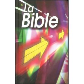 Bible NEG compacte rigide illustrée flèches mauve