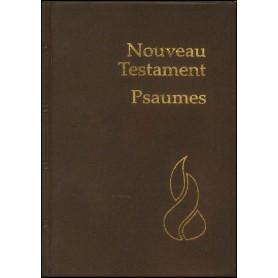 Nouveau Testament NEG Psaumes souple PVC brun