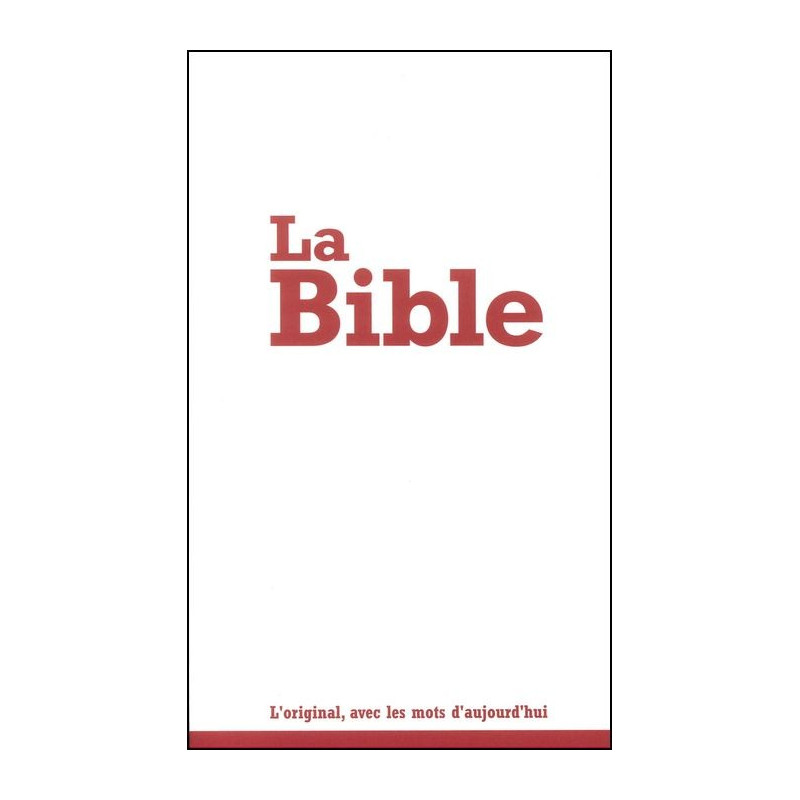 Bible Seg.21 d'évangélisation broché