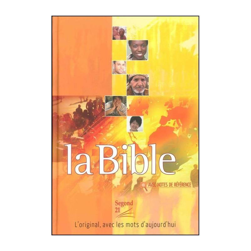 Bible Seg.21 notes de référence rigide illustrée avec Cd-rom