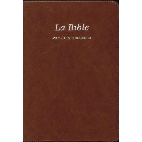 Bible Seg.21 notes de référence souple brun onglets