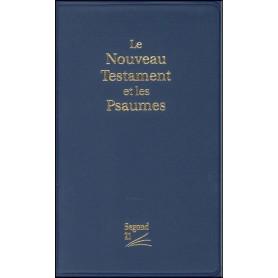 Nouveau Testament Psaumes Segond 21 relié PVC bleu