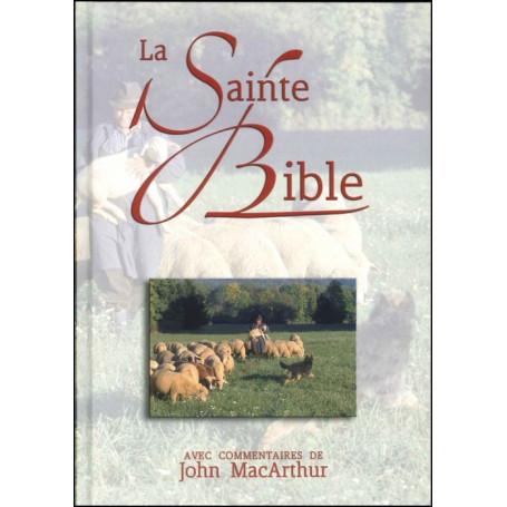 Bible NEG MacArthur rigide couverture illustrée
