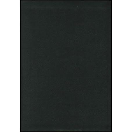 Bible NEG MacArthur souple cuir noir tranche or