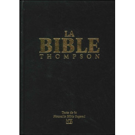 La Bible Thompson NBS rigide