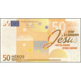 Billet de 50 Héros (Vendu par 100 exemplaires)