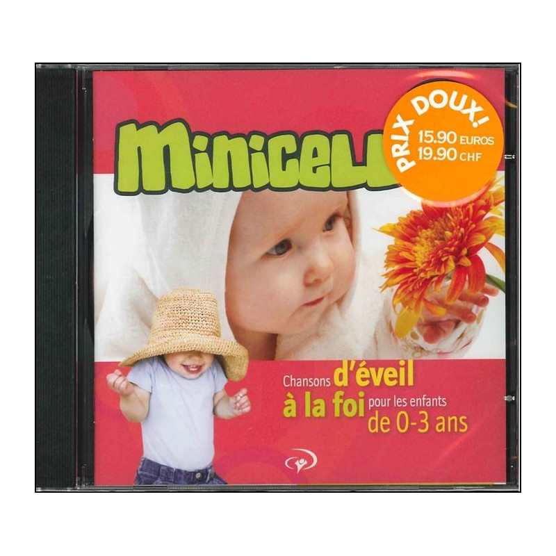 CD Minicell (Chansons d'éveil à la foi pour les 0-3 ans)