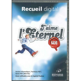 CDR Recueil digital J'aime l'Eternel Kids vol 1