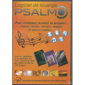 CDR Logiciel de louange Psalmo (avec les recueils 1, 2 et 3 (1)