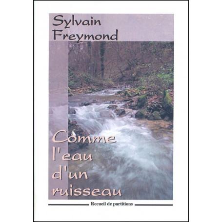 Recueil Comme l'eau d'un ruisseau plus textes pour transparents
