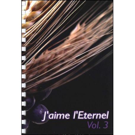 Recueil J'aime l'Eternel vol 3 (722 à 943) - spirales