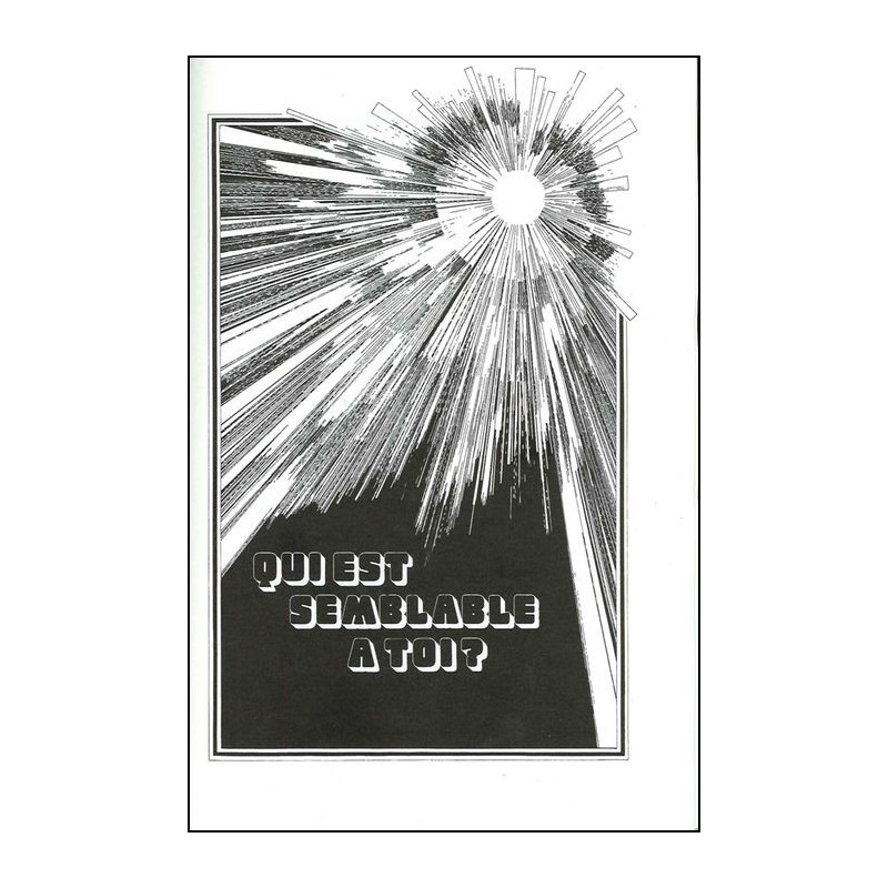 Recueil JEM Suppl. vol 1 - Qui est semblable à toi ? (248-297) (Epuisé)