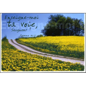 Carte simple Psaume 86 : 11