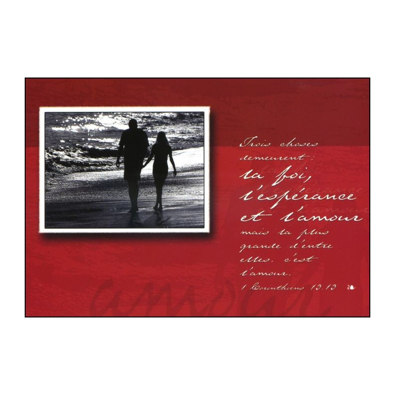 Carte simple 1 Corinthiens 13 : 10