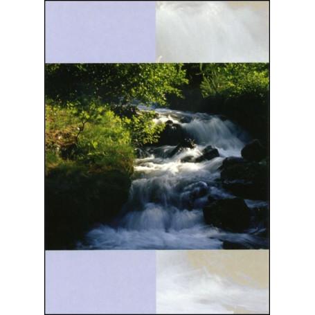 Carte double feuillet Psaume 36 : 10