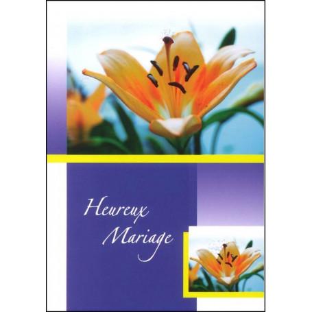 Carte double Mariage Phlippiens 1 : 9-10