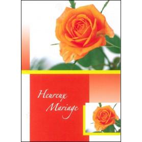 Carte double Mariage Cantique des cantiques 4 : 9-10