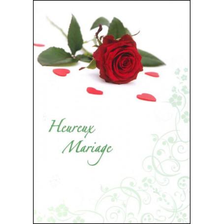 Carte double Mariage 1 Corinthiens 13 : 13