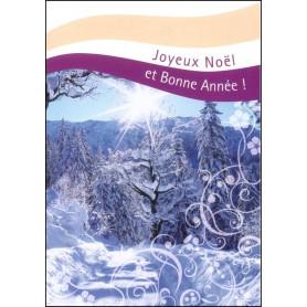 Carte double Joyeux Noël et Bonne Année Luc 1 : 68