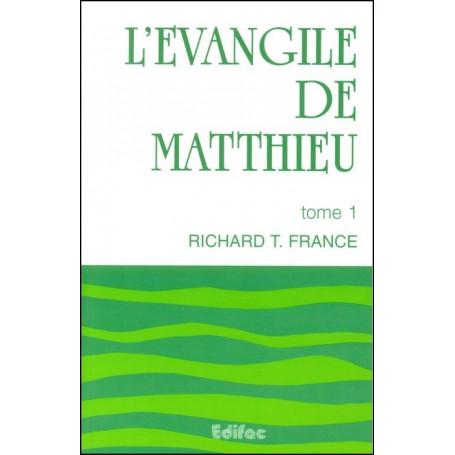 L'évangile de Matthieu tome 1