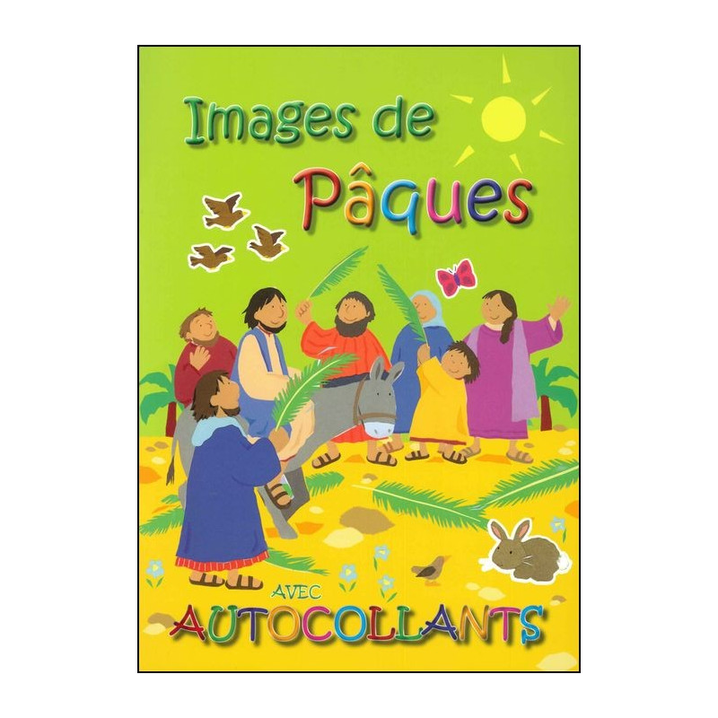 Images de Pâques avec autocollants