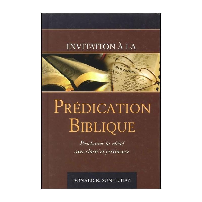 Invitation à la prédication biblique