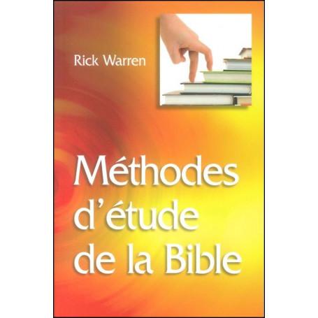 Méthodes d'étude de la Bible - Broché