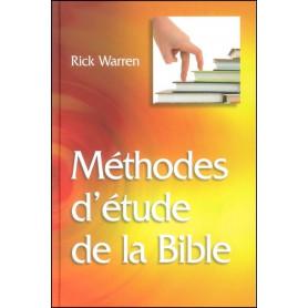 Méthodes d'étude de la Bible - Relié