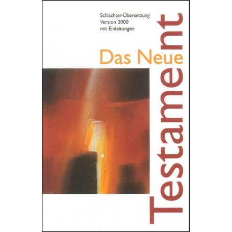 Nouveau Testament Allemand Français Anglais rigide grenat