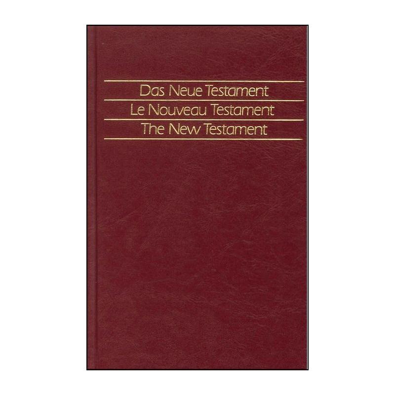 Nouveau Testament en Allemand - NGU - Rigide Moleskine Noir