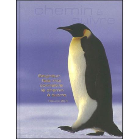 Carnet de notes blanc - Pinguin