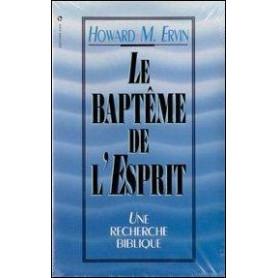Le baptême de l'Esprit