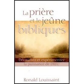 La prière et le jeûne bibliques