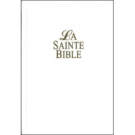 Bible Segond 1910, rigide blanche