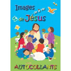 Images de la vie de Jésus avec autocollants