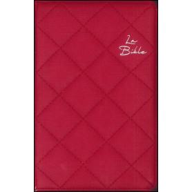 Bible Segond 21 matelassé rouge