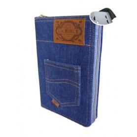 Bible Segond 21 jeans avec onglets, fermeture éclair