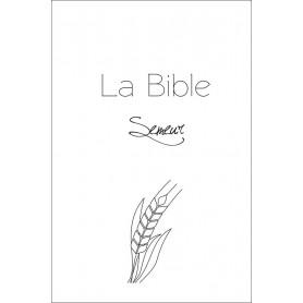 Bible Semeur gros caractères rigide blanche