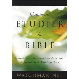 Comment étudier la Bible