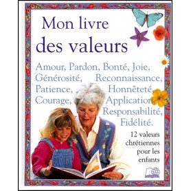 Mon livre des valeurs