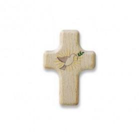 Petite croix motif colombe