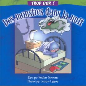 Des monstres dans la nuit – collection Trop dur !