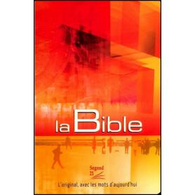 Bible Segond 21 poche brochée cousue – couverture illustrée