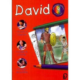 David - Découvrir la Bible en coloriant 9