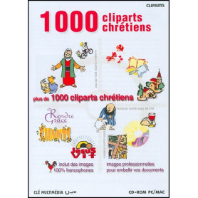 CD-ROM 1000 cliparts chrétiens