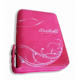 Bible Segond 21 extra mini – cover rose avec zipper