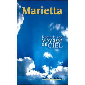 marietta - récit de son voyage au ciel - format poche