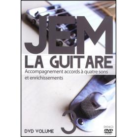 DVD JEM La guitare Volume 3 - Accompagnement accords à quatre sons et enrichissements
